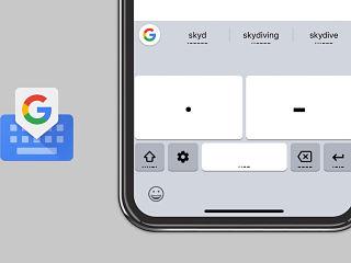 Morse, Gboard de Google integre cette fonctionnalite sous Android et iOS