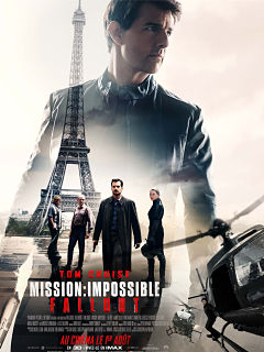 Mission Impossible Fallout, film de Christopher McQuarrie avec Tom Cruise
