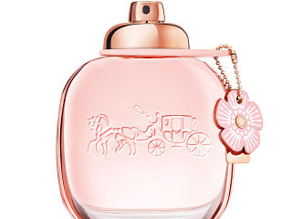 Parfum de Coach, eau de toilette inspiree du motif iconique Rose The