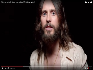 Thirty Seconds to Mars : le groupe de rock devoile le clip de Rescue Me