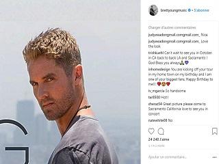 : William Rast : Brett Young est ambassadeur de cette marque de pret a porter de Justin Timberlake