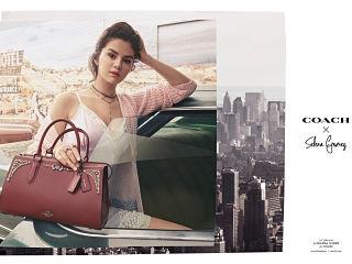 Coach x Selena Gomez, ligne de vetements et de sacs a main de la chanteuse