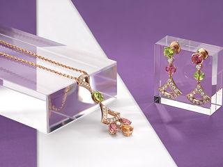 Divas Dream de Bulgari, collection de bijoux dont Lily Aldridge est l egerie