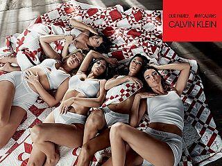 Calvin Klein, la marque de pret a porter reunit les sœurs Kardashian Jenner