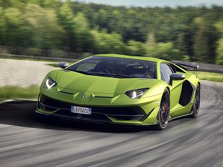 Lamborghini Aventador SVJ, voiture avec un moteur V12 du constructeur italien