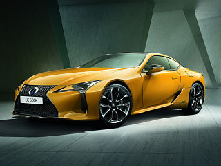 Lexus LC Yellow Edition, coupe avec finition Sportplus au Mondial de Paris 2018