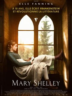 Mary Shelley, film dramatique avec Elle Fanning et Douglas Booth au cinema