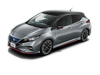 Nissan Leaf Nismo, une voiture de sport equipee d un moteur electrique