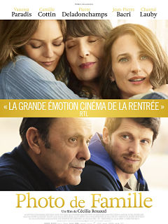 Photo de famille, la comedie dramatique avec Chantal Lauby et Vanessa Paradis