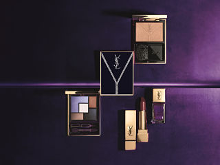 Yconic Purple, collection de maquillage de la maison Yves Saint Laurent