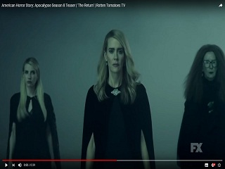 Serie American Horror Story, Ryan Murphy devoile le teaser de la sasion 8
