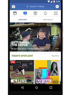 Facebook Watch, service de contenus videos du reseau social lance en France