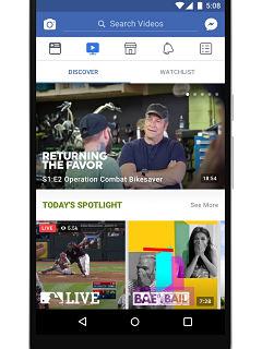 Facebook Watch, service de contenus videos du reseau social lance en France