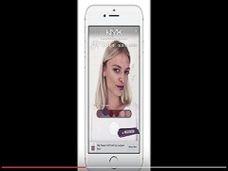 L Oreal teste, sur facebook, le maquillage en realite augmentee via ModiFace