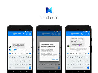 M Translations, outil de traduction de Facebook dans la messagerie Messenger