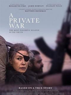 Biopic A Private War, Rosamund Pike et Jamie Dornan a l affiche du film