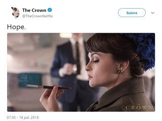 The Crown, Helena Bonham Carter incarne la princesse Margaret dans la serie