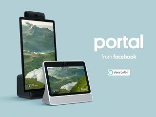Facebook Portal, ecran connecte equipe d Alexa pour les appels video