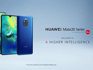 Huawei Mate 20 Pro, smartphone avec ecran OLED et processeur Kirin 980