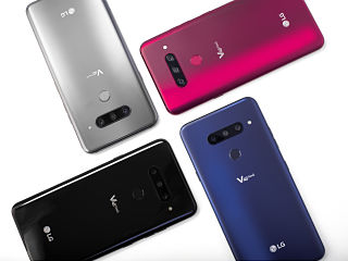 LG V40 ThinQ, un smartphone sous Android dote de 5 capteurs photo