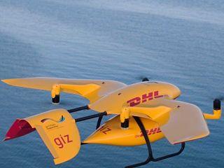 Livraison de medicaments par drone en Afrique de l Est par DHL et GIZ