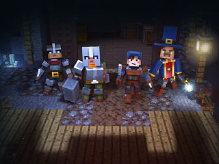 Minecraft Dungeons, jeu d action aventure multijoueur du studio Mojang