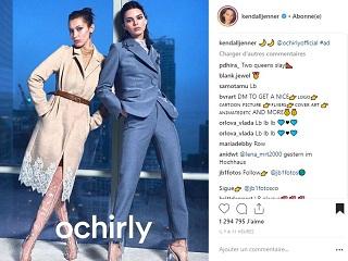 Ochirly : Kendall Jenner et Bella Hadid sont ambassadrices de la marque de pret a porter