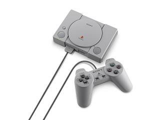Sony PlayStation Classic, console avec manettes d origine et jeux video