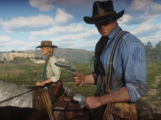 Jeux video, le jeu Red Dead Redemption 2 de Rockstar Games sur PS4