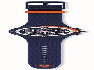 Swatch propose des montres Roland Garros, garde temps de la marque horlogere