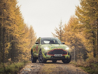 Aston Martin DBX : le prototype du SUV de la marque anglaise a ete devoile
