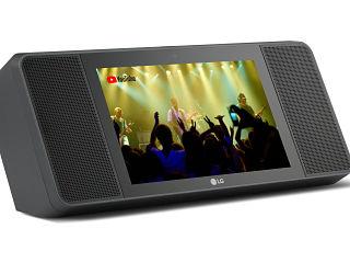 LG XBOOM AI ThinQ WK9, enceinte connectee avec ecran et Google Assistant
