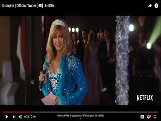 Dumplin : Jennifer Aniston apparait dans le trailer du film d Anne Fletcher