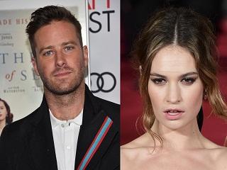 Rebecca : Lily James et Armie Hammer joueront dans ce film de Ben Wheatley