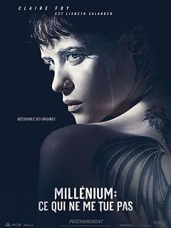 Thriller Millenium Ce qui ne me tue pas de Fede Alvarez avec Claire Foy au cinema