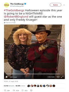 The Goldbergs: Robert Englund joue Freddy Krueger dans la serie de ABC