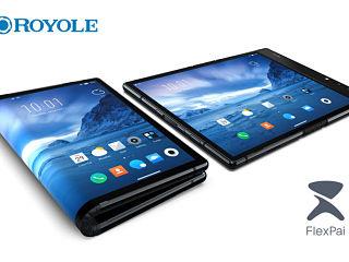 Royole FlexPai, smartphone pliable avec Snapdragon 8150 et Water OS 1 0