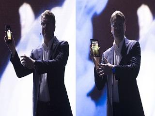 Samsung Galaxy F : le prototype du smartphone a ecran pliable a ete devoile