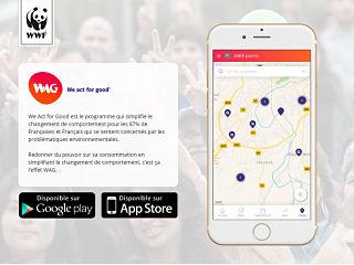 WAG, une application de WWF France pour la sante et l environnement
