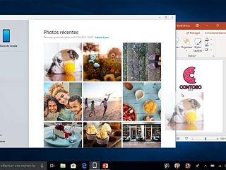 Mise a jour de Microsoft Windows 10, Votre telephone parmi les fonctionnalites