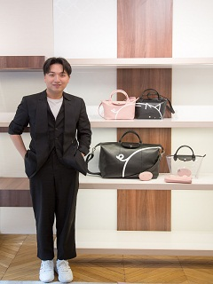 Longchamp : Mr. Bags lance une collection de sacs a main de la marque francaise