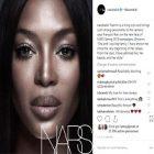Naomi Campbell devient l'égérie de Nars Cosmetics