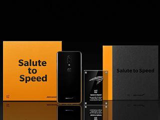 OnePlus 6T McLaren Edition, smartphone avec 10 Go de memoire vive et Warp Charge