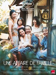 Une affaire de famille de Hirokazu Kore eda : un film avec Kirin Kiki et Lily Franky
