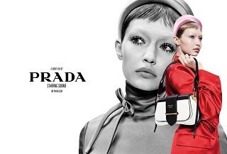 Prada : Gigi Hadid, la mannequin lance la collection de la marque italienne