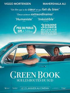 Film Green Book sur les routes du sud de Peter Farrelly au cinema