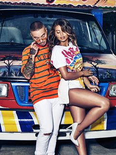 Guess x J Balvin, collection de vetements Guess Vibras du chanteur