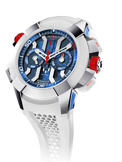 Jacob and Co, montre Epic x Chrono Messi avec le footballeur Lionel Messi