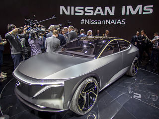 Nissan Concept IMs, berline electrique sportive du constructeur japonais