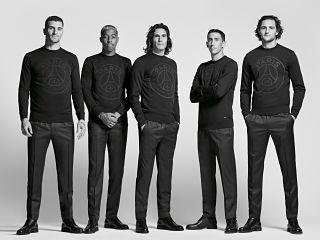 Paris Saint Germain x Hugo Boss, pret a porter et accessoires pour hommes